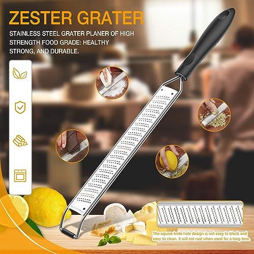 Kitchen Fruit Sharp Planer Vegetable Stainless Steel Lemon Zester Cheese Grater
