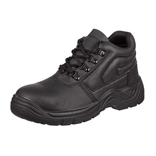 New MEN Comfortable Safety Steel  Work Boots TOE CAP ANKLE\Hiker SIZE 3-13 UK