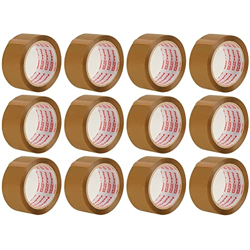 This 6 Packatape 6 Rolls 48MM x 66M Clear Packaging Tape for Parcels and Boxes
