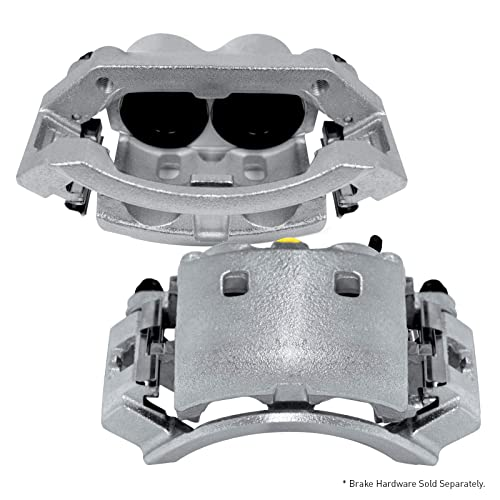 For 1997-1999 Ford F-150 R1 Concepts Front Rear Ceramic Brake Pads