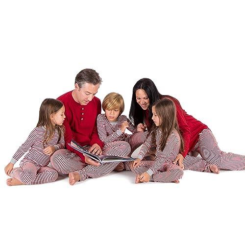 fe16b3bb7aca Buy Burt's Bees Baby Family Jammies, Candy Cane Stripe, Holiday Matching  Pajamas, 100% Organic Cotton with Ubuy Kuwait. B078MDSMBF