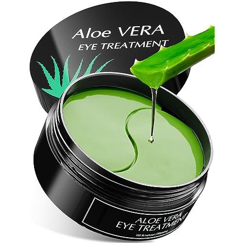 Buy Aloe Vera Eye Treatment Mask Reduce Puffy Eyes Wrinkles Dark