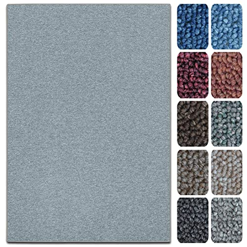 with Dark Brown Border 120 x 180 cm Living Room Rug Anti-Static Kitchen Carpet With Non-Slip Latex Backing Salvador Collection casa pura Natural Sisal Rug