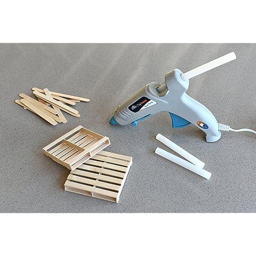 Elmers Craft Bond Less Mess All-Temp Mini Glue Sticks 24 Count E6055 4x0.27