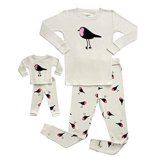 2-10 Y Leveret Horse Matching Doll /& Kid Short 2 Piece Pajama 100/% Cotton