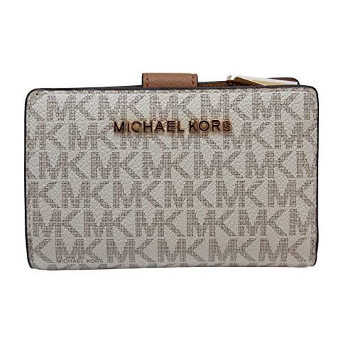 3a5b0c5603a7 Buy Michael Kors Jet Set Travel PVC Signature Bifold Zip Coin Wallet Clutch  with Ubuy Kuwait. B07G1YRYL3
