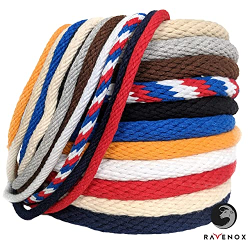 White Pull Rope Cord 1//2 inch x 100 ft Aoneky 1//2 5//8 3//4 7//8 inch Nylon Twisted Rope