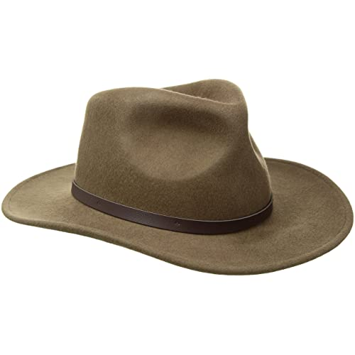 72fad1a9 Buy Scala Classico Men's Crushable Felt Outback Hat with Ubuy Kuwait.  B001GJLTJK