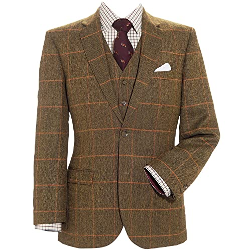 Skopes Sunningdale Tweed Jacket Green 48 50 52 54 56 58 60 62 64 66 68 70 72