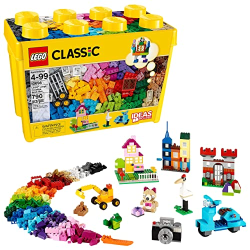 95507602e0dc Buy LEGO Classic Large Creative Brick Box 10698 Build Your Own Creative Toys,  Kids Building Kit (790 Pieces) with Ubuy Kuwait. B00NHQF6MG