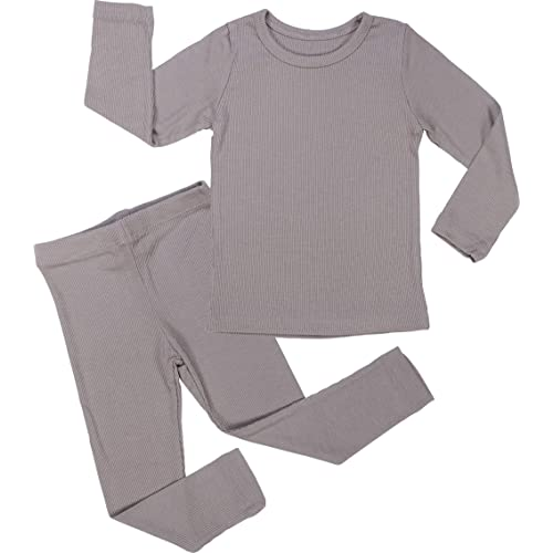 AVAUMA Newborn Baby Little Boys Girls Snug-Fit Pajamas Summer Winter Short//Long Sleeve Sets Pjs Kids Clothes
