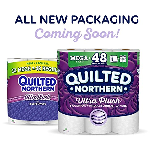 24 Supreme Rolls=99 Regular Quilted Northern Ultra Soft  Strong Toilet Paper
