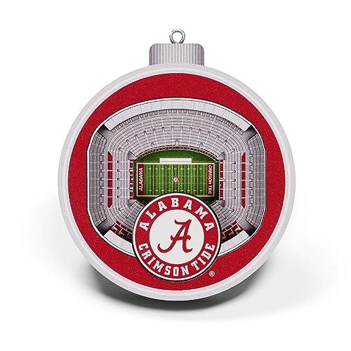 YouTheFan NCAA Georgia Bulldogs Team Colors Large Sanford Stadium 3D StadiumView Ornament3D StadiumView Ornament