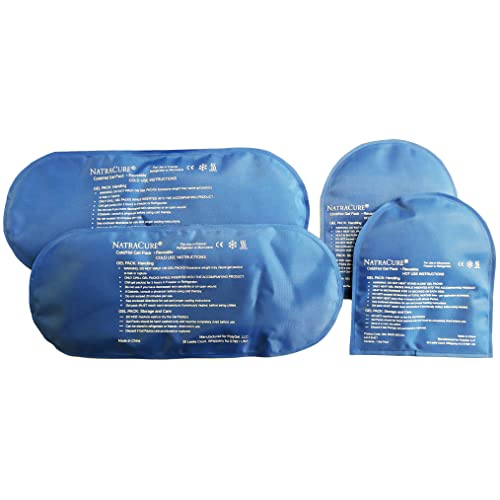 60b34c24bc27 Buy NatraCure Cold Therapy Socks - Gel Ice Treatment for feet, Heels ...