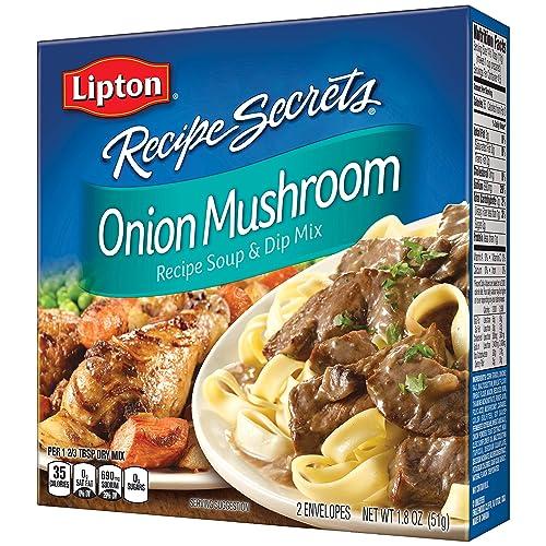 Buy Lipton Recipe Secrets Soup And Dip Mix Onion Mushroom