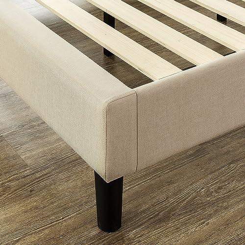 Zinus Upholstered Modern Classic Tufted, Zinus Misty Upholstered Modern Classic Tufted Platform Bed Queen