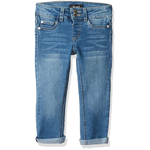 DKNY Girls Big Double Stacked Waist Denim Jean