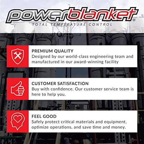 3/' x 4/' Powerblanket Xtreme EH0304G Ground Thawing Blanket Ground Thawing