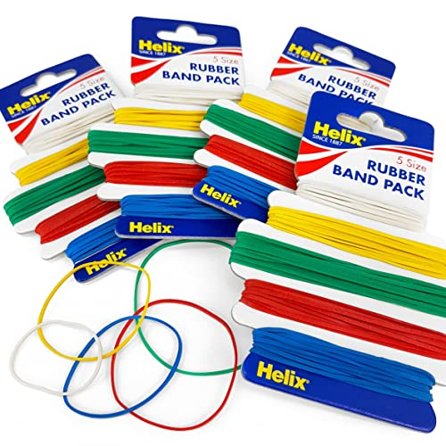 Colourful Rubber Bands 240pcs Bank Paper Bills Money Euro Pound Elastic Stretchable Bands Assorted Colours