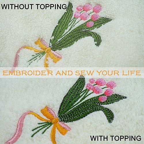 "Tear//Wash Away Embroidery Stabilizer//Backing 12/""x10YD"