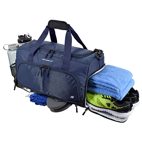 Blue Waterproof /& Lightweight Large Capacity Luggage Bag Tote Bosiwee Foldable Travel Duffle Bag