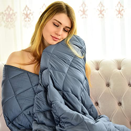 """King Size Comfortabl 30LBS 88"""" X 104"""" 7-Layered MerLerner Weighted Blanket"""
