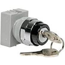 ASD21K10N Switch Key Lock N.O SPST 90/° Flat Key 10A 440VAC 440VDC 3.3N Screw 500000Cycles Panel Mount