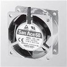 81.3CFM VoltSensor SANYO Denki 109S484-20 AC Fan 120x25mm 115VAC 60Hz 12W Plastic B Al F
