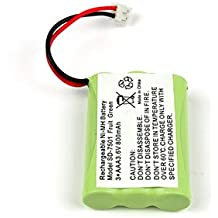 Again /& Again: STB 941 STB941 KXTG2356W KXTG2357B KXTG2357PK KXTGA545 ATC 3.6V Replacement Battery For PANASONIC HHR-P104 KXTG2382B KXTG2386B KXTG2388B