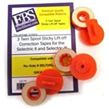 #86L GRC #T355 #T375 #T362 EBS Premium QualityPackage of Three Lift-Off Correction Tape Compatible with Nu--Kote #86TL