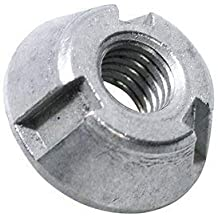 M18 x 1.5 mm Steel J.W Winco 180XSNB DIN1804 Slotted Spanner Nut Hardened