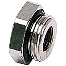 Pack of 20 Nickel Plated Brass Parker 0178 17 13-pk20 Push-in Fitting Adaptor BSPP Reducer Male//Female Stud Thread G3//8 and G1//4
