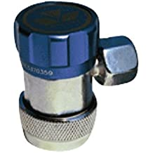 Kangkang@ 1 Pair Connector R134a Car Automotive Air Conditioning A//C Straight Quick Air Connector Coupler Adapter