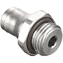 Tube to Pipe 8 mm Pack of 5 1//8 1//8 Parker 68PLM-8M-2R-pk5 Prestolok PLM Metal Push-to-Connect Fitting Nickel Plated Brass Push-to-Connect and Male BSPT Connector Pack of 5