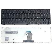 New Laptop Keyboard with Frame for Asus A53U K53BR X53B X53BR X53BY X53Ka X53Ke X53L X53Q X53TA X53TK X53U X53Z V118502AS1 PK130J22A00 70-N5I1K1000 PCRepair