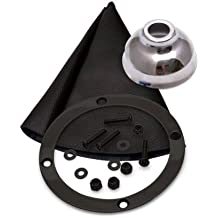 American Shifter 58871 Single Action Automatic Transmission Shifter Kit with 16 Single Bend Arm and Black Knob for GM TH400 Transmission