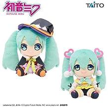 taito Sakura Miku stuffed toy stuffed Soft plush mascot 3set Miku Hatsune japan