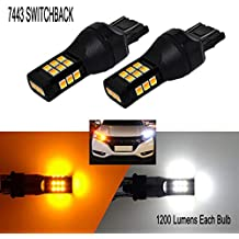 LED Headlights U7 LED Super bright LED headlight kit 6000LM//set Compact Design by HIDNY