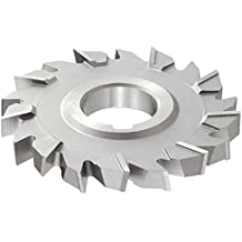 24 Teeth Uncoated Coating 1//2 Width KEO Milling 06981 Straight Tooth M42 Side Milling Cutter,DB Style HSCO 1-1//4 Arbor Hole 4 Cutting Diameter