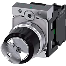 SPST-NO // SPST-NC Contacts Maintained Operation 2 Positions Eaton C22-WRS-MS2-K11 Key Operated Selector Switch Silver Bezel