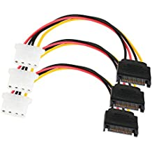 25 Items Cable Assembly SATA 0.305m SATA to SATA//SATA 15 to 15 POS F-F//M 68809-0004