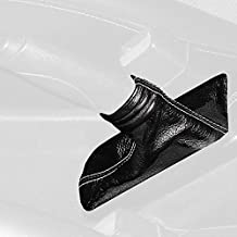 Black Leather-Black Thread RedlineGoods ebrake Boot Compatible with Nissan Altima 2002-04