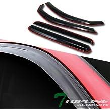 vent window shade visor visors for 96-04 Toyota Tacoma 2d