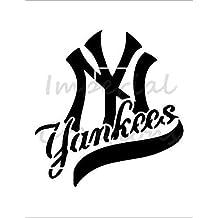 NEW YORK GIANTS Ny Football Team 8.5 x 11 Stencil 20 Mil Sheet S97