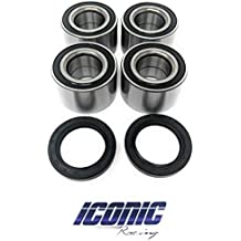 705400088 293250246 ATV Parts Connection Front or Rear Wheel Bearing Kit for Can-Am//Bombardier ATV UTV Replacement to OE # 293350040