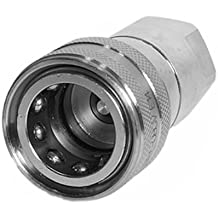 3625 PSI Max Working Pressure Viton Seals 10875 PSI Burst Pressure 1.2 ID 3//8 NPT Female Thread 0.375 3//8 NPT Female Thread 1.2 ID 0.375 Holmbury Inc Holmbury IAS10-F-06N Stainless Steel ISO A Coupler