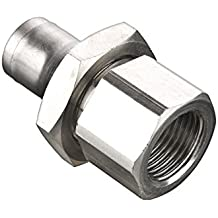 12 mm and 1//2 Pack of 10 Nickel Plated Brass Parker 68PLMSP-12M-8G-pk10 Prestolok PLM Metal Push-to-Connect Fitting 12 mm and 1//2 Tube to Pipe Pack of 10 Push-to-Connect and Male BSPP Connector