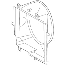 Genuine Mercedes-Benz Sight Shield 204-500-03-55