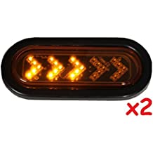 AutoSmart KL-20108L Red Universal Mount Stop//Turn//Tail Light with License Illuminator