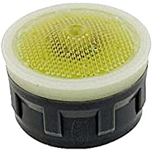 Tom Thumb 1.5 GPM Green//Clear Dome Acetal Neoperl 11 1950 5 PCA Perlator HC Economy Flow Aerator Insert with Washer Aerated Stream Honeycomb Screen